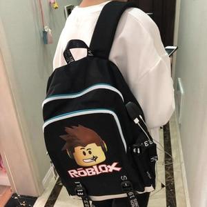 Image 5 - Roblox Rugzakken Voor School Multifunctionele Usb Opladen Voor Kinderen Jongens Kinderen Tieners Mannen Schooltassen Reizen Laptop Mochilas