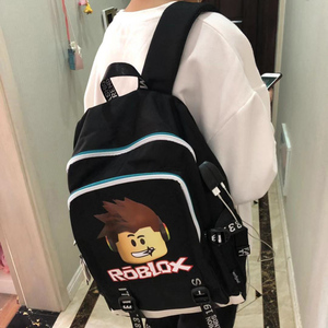 Image 5 - Roblox backpacks for school multifunction USB charging for Kids Boys Children teenagers Men School Bags travel Laptop mochilas