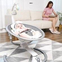 Chaise à bascule électrique pour bébé de 0 à 3 ans, berceau de sécurité, apaisant, artefact pour sommeil pour nouveau-né, livraison gratuite