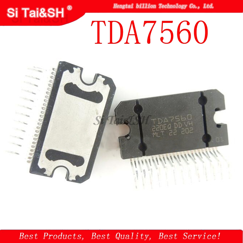 2pcs/lot TDA7560 TDA7560 ZIP-25 Chip Is 100% Work Of Good Quality IC