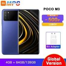 Versão global poco m3 4gb 64gb/4gb 128gb smartphone snapdragon 662 6.53