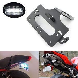 Image 1 - Per Triumph Street Triple R RX RS S 675 Daytona 675 License Plate Holder Posteriore di Coda Tidy Fender Eliminator di Registrazione kit piastra