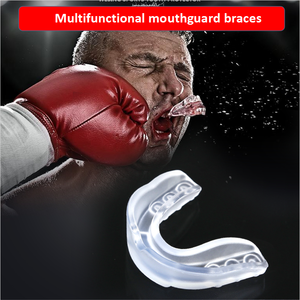 MouthWhile Sport Guard EVA Teeth Brace Protector Night Guard Trays for Bruxism Grinding Anti-snoring Whitening Boxing Protection