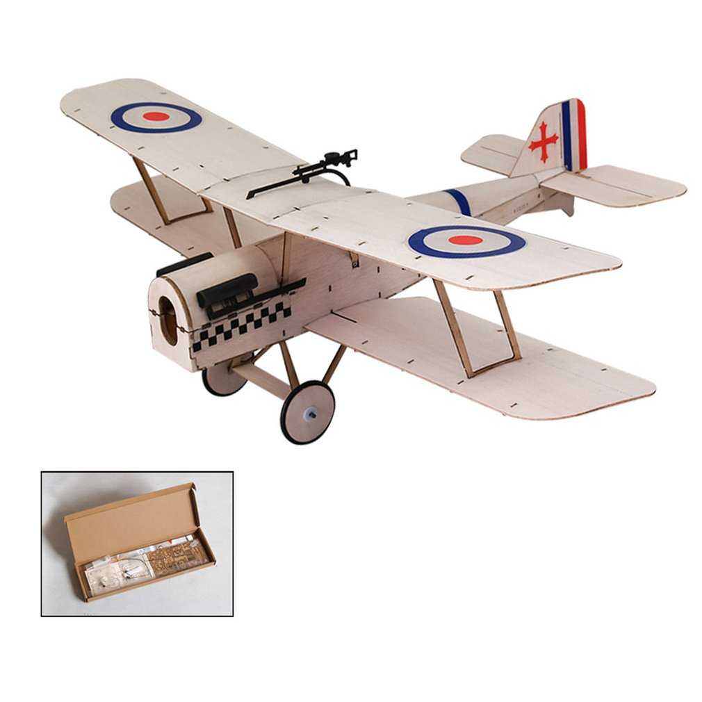 RC Airplane Balsawood Micro T-34 Toy Planes Model Wood Aircraft Model Kits image