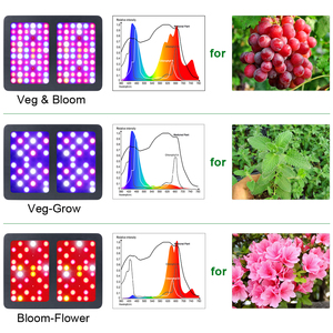 Image 3 - Famurs ışık büyümeye yol açtı 800W/1500W/2000W/3000W tam spektrum reflektör üçlü çip Veg Bloom kapalı bitkiler için büyümek çadır bitki led