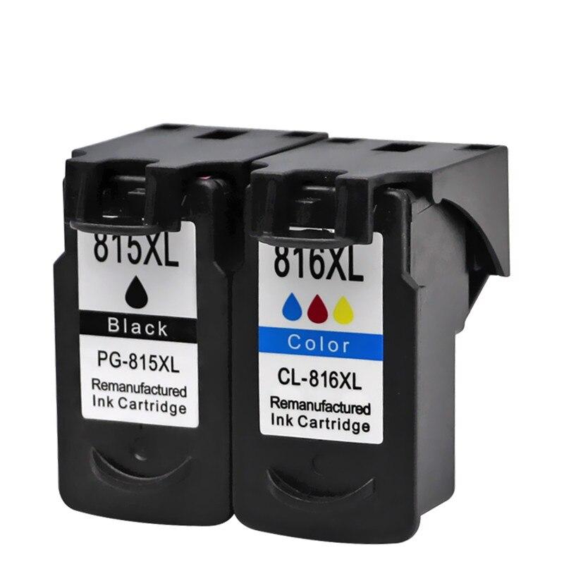 Чернильные картриджи для PG-815 XL PG-815XL PG 815 PG815 CL816 Pixma MX358 MX368 MX418 MX428 MX348 струйный принтер