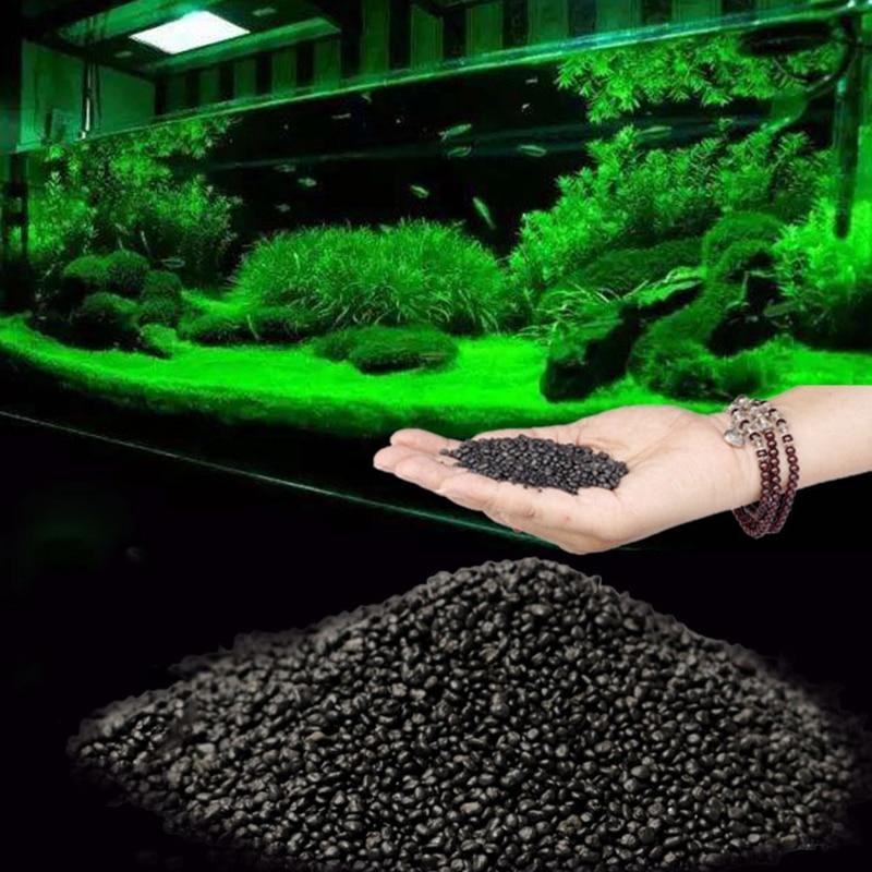 100g Fish Tank Water Plant Fertility Substrate Aquarium Plant Soil Substrate Gravel Aquatic Decoration Grass Plant Mud Soil