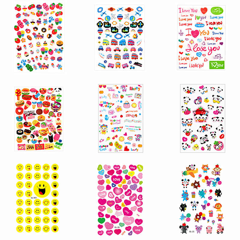 2020New Mini Kawaii Paper Stationery Sticker Decoration Decal DIY Album Scrapbooking Seal Sticker Stationery Gift Material Escol