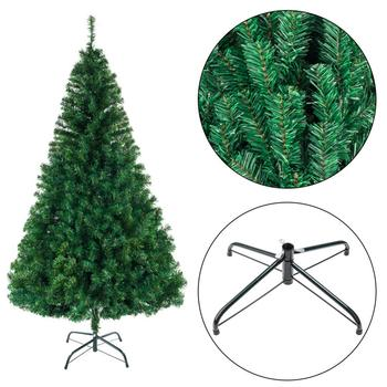 PVC Christmas Tree For Home Decorations Alightup 8ft 1138 Branch Artificial Christmas Tree New Year Gift Holiday Decoration