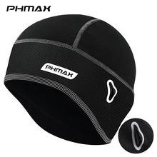 PHMAX kış bisikletçi şapkası termal polar kayak kap MTB bisiklet Bandana kafa bandı bisiklet kask şapka koşu sürme motosiklet şapkalar