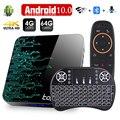 ТВ-приставка 2020 Android 10 4 ГБ 32 ГБ 64 Гб ТВ-приставка 4K H.265 Смарт ТВ-приставка медиаплеер 3D видео 2,4G 5GHz Wifi Bluetooth телеприставка