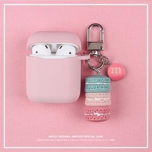Korean Sweet Pink Macaron Case