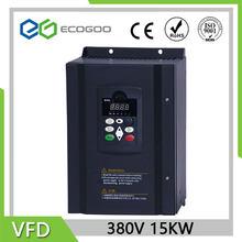 Frequenz Konverter VFD 50hz bis 60hz 3 Phase 380V AC Inverter 18,5 KW / 15kw / 22kw für 38A nennstrom motor