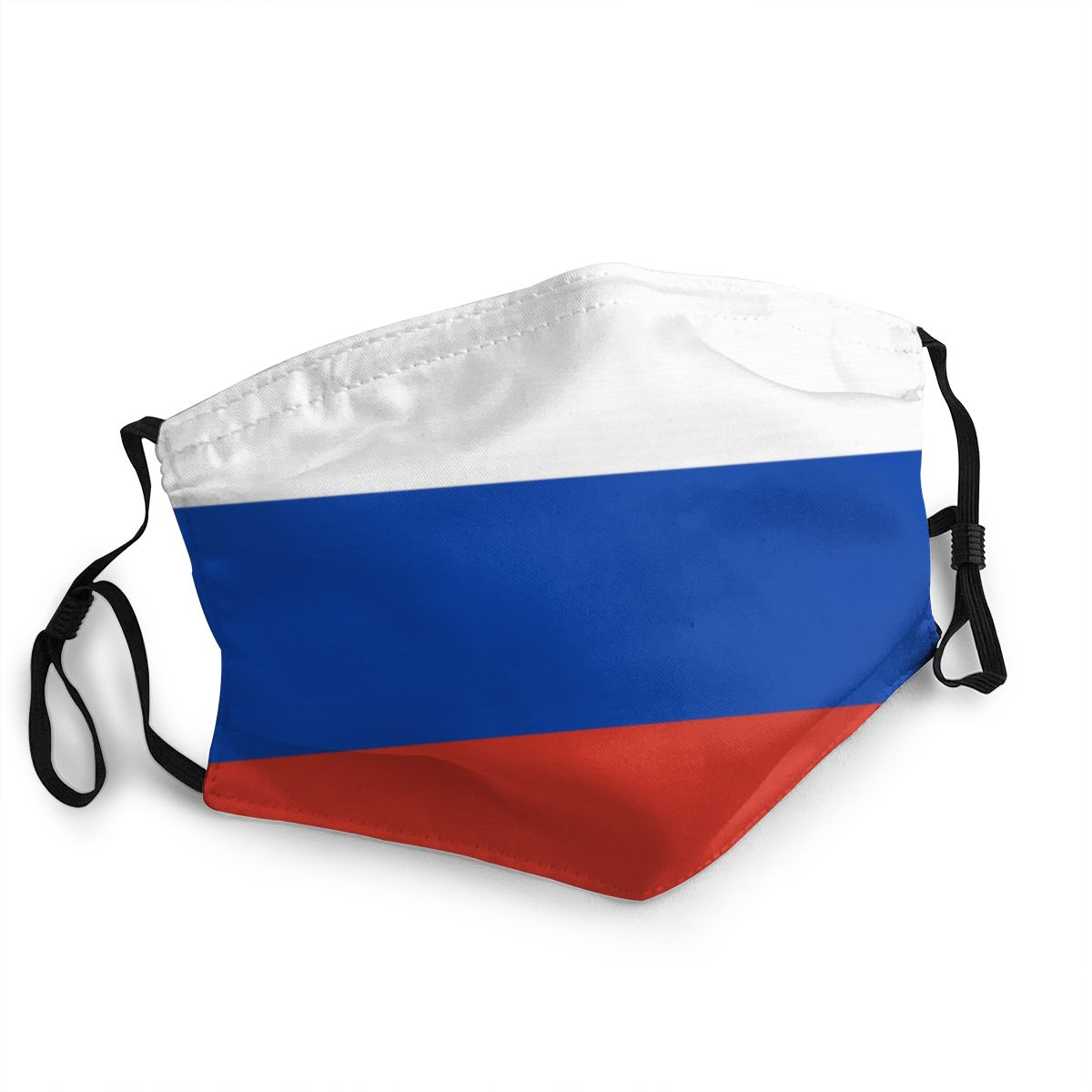 Flag Of Russia Adult Reusable Mouth Face Mask Pattern Anti Haze Dustproof Mask Protection Mask Respirator Mouth Muffle
