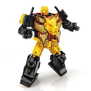 Image 5 - G1 transformação predaking divebomb rampage cabeça oversize guerra modo águia figura de ação robô brinquedos