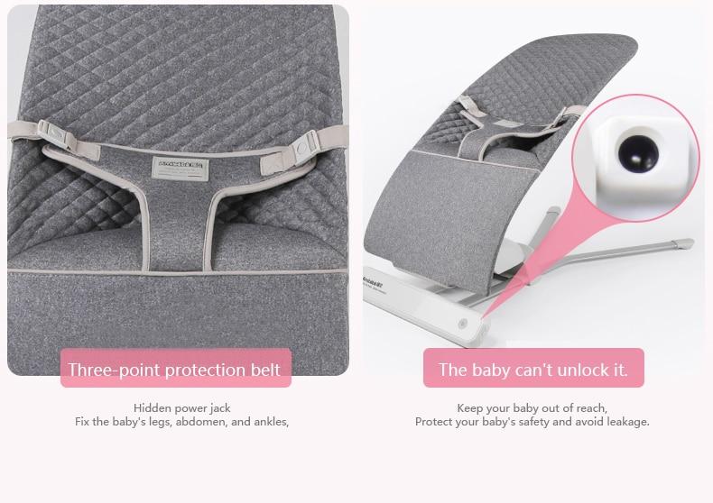 H4ce1d4f1ab2a4b248c9057d21b509fc8M Baby rocking chair sleepy baby artifact comfort baby chair child 0-36 months baby shaker newborn cradle to sleep