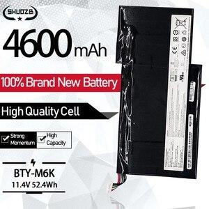 Новый 4600 мА/ч, BTY-M6K ноутбук Батарея для MSI MS-17B4 MS-16K3 GS63VR 7RG-005 7RG GF63 8RD-031TH 8RC GF75 тонкий 3RD 8RC 9SC планшет
