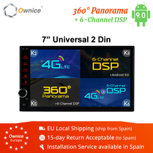 Ownice 2GB Android 8,1 Universal Radio Auto dvd 2 din GPS Navigation Wifi Stereo Video 7 \
