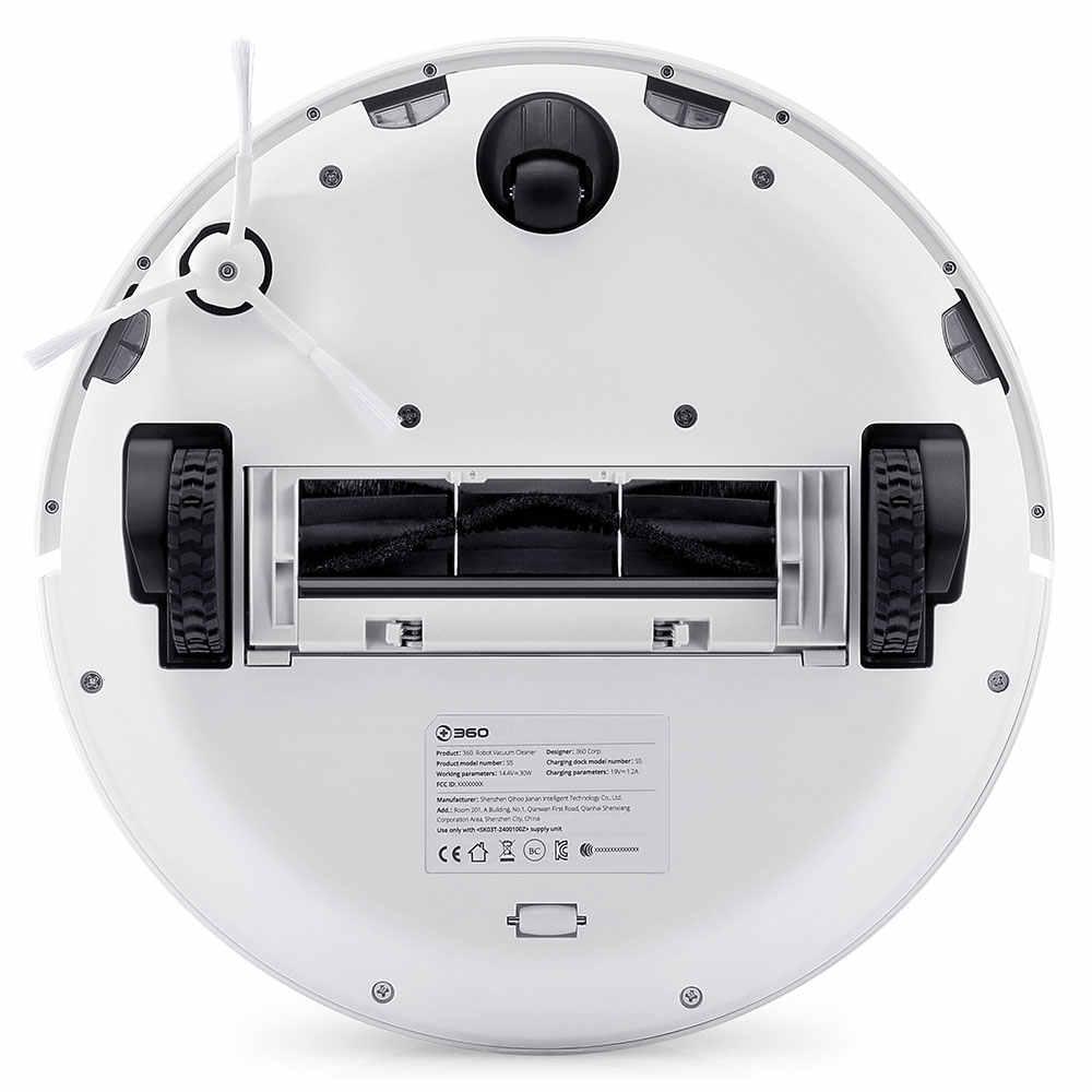 360 S5 جهاز آلي لتنظيف الأتربة المنظفات الذكية 2000PA ليزر الملاحة Lidar Mop التلقائي إعادة شحن الأسبرادور للمنزل