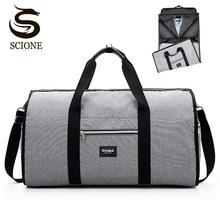 Мужская Дорожная сумка через плечо, сумка для путешествий, Мужская водонепроницаемая сумка, сумки для багажа, бизнес большой костюм, сумка для путешествий