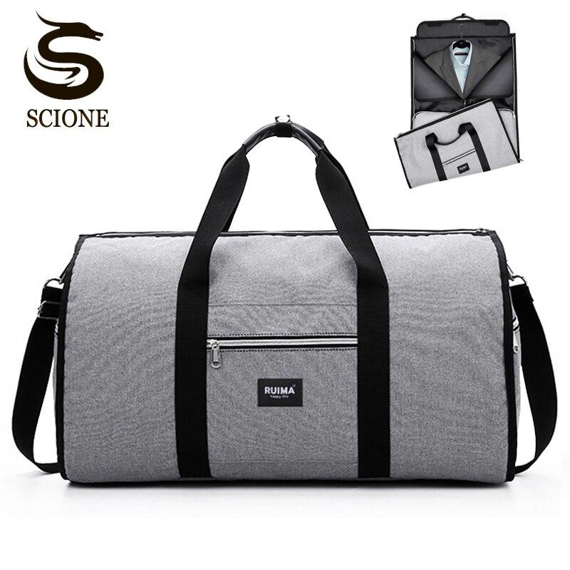 Men's Travel Shoulder Bag Travel Duffle Bag Men Hot WaterProof Handbag Luggage Bags Business Large Suit Duffle Bag