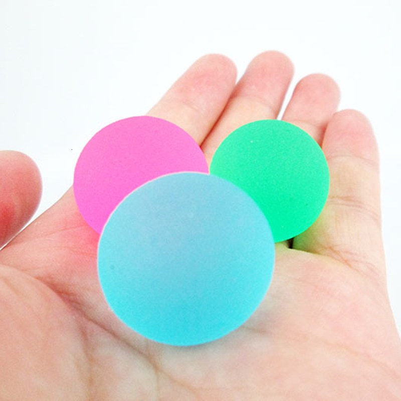 New Children's Toy Ball Bouncing Ball 25MM Frosted Random Colors Can Be Loaded Toy Entertainment For Kids Toys
