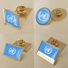 United Nations Single Flag Lapel Pins nations without states