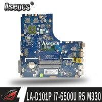 SAMXINNO For Lenovo B51-80 LA-D101P Laotop Mainboard LA-D101P Motherboard with I7-6500U CPU R5 M330 GPU