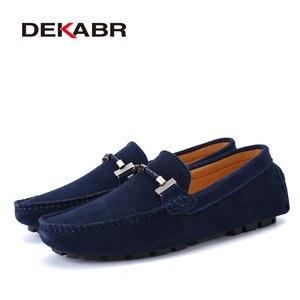 Image 3 - DEKABR Hợp Thời Trang Nam Giày Size Lớn 38 47 Thương Hiệu Mùa Hè Lái Xe Cho Nữ Thoáng Khí Bán Buôn Người Mềm Giày dành cho Nam