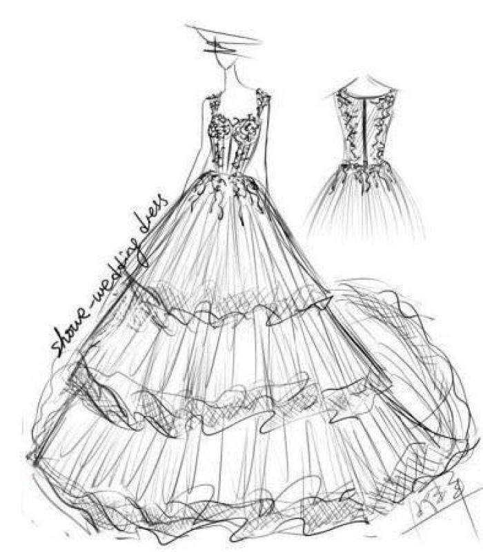 Couture Custom Make Wedding Dresses Evening Gowns