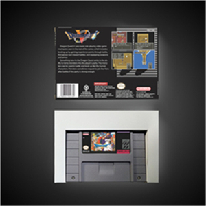Image 2 - Dragon Quest V 5   RPG Game Card Battery Save US Version Retail Box