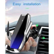 Balight 1 шт. быстрое зарядное устройство для телефона автомобильное беспроводное зарядное устройство Qi зарядный держатель телефона на вентиляции