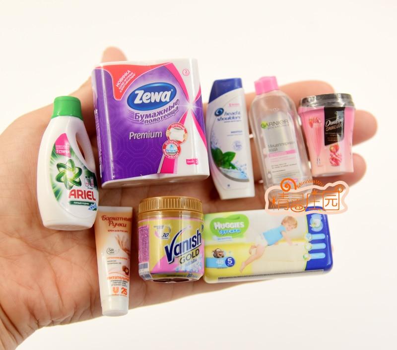 1PCS Mini Diaper Dollhouse Miniature Food 1/6 Blyth Barbies BJD Supermarket Miniature Pretend Play Toy Accessories