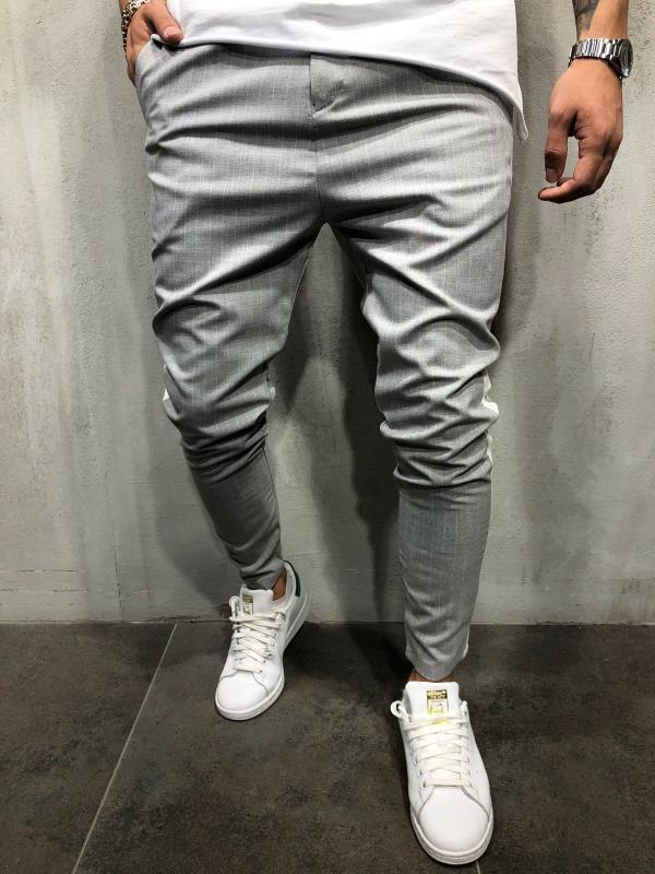 H4ce30cbd0e474f5a8146199a51ce9d23e Spring Autumn Casual Men Sweat Pants Male Sportswear Casual Trousers Straight Pants Hip Hop High Street Trousers Pants Joggers