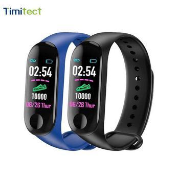 smart watch wristband fitness tracker M3 bracelet heart rate blood pressure health waterproof
