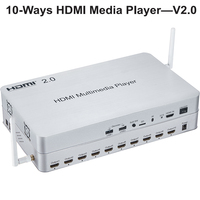 HDMI 2.0 10 sposoby odtwarzacz multimedialny przełącznik/Splitter  1.5 GHz Quad core CPU obsługiwać 2 K  4K ultra hd grać na żądanie  gry  przeglądanie stron internetowych w Transmisje publiczne od Bezpieczeństwo i ochrona na