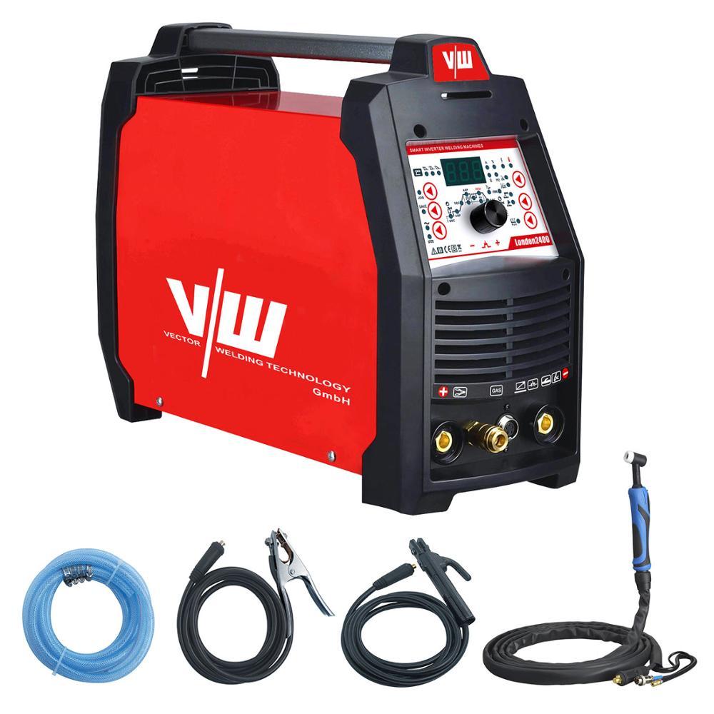 TIG Pulse MMA Tig AC Welder TIG 200a Welder 4in1 Electrode DC 220V Inverter CDC Tig