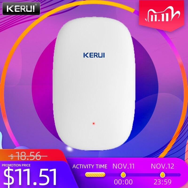 KERUI High Quality Z31 Wireless Smart Vibration Detector Shock Door Window Sensor Alarm for KERUI Ho