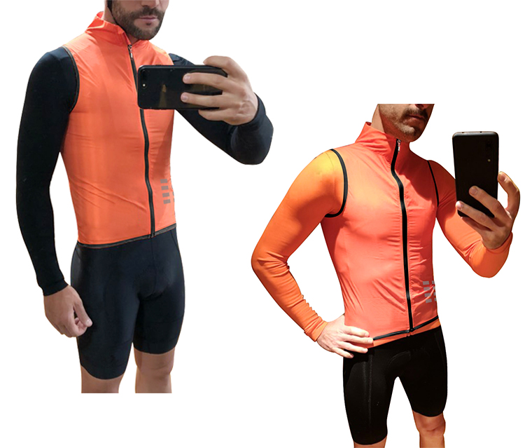 Image 5 - WOSAWE Breathable Cycling Vest Windproof Water repellent Running Vest MTB Bike Bicycle Reflective Sleeveless Cycling Jersey-in Cycling Vest from Sports & Entertainment