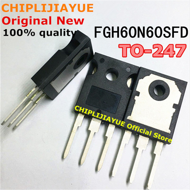 20PCS FGH60N60SFD TO247 FGH60N60 60N60 TO-247 new and original IC Chipset