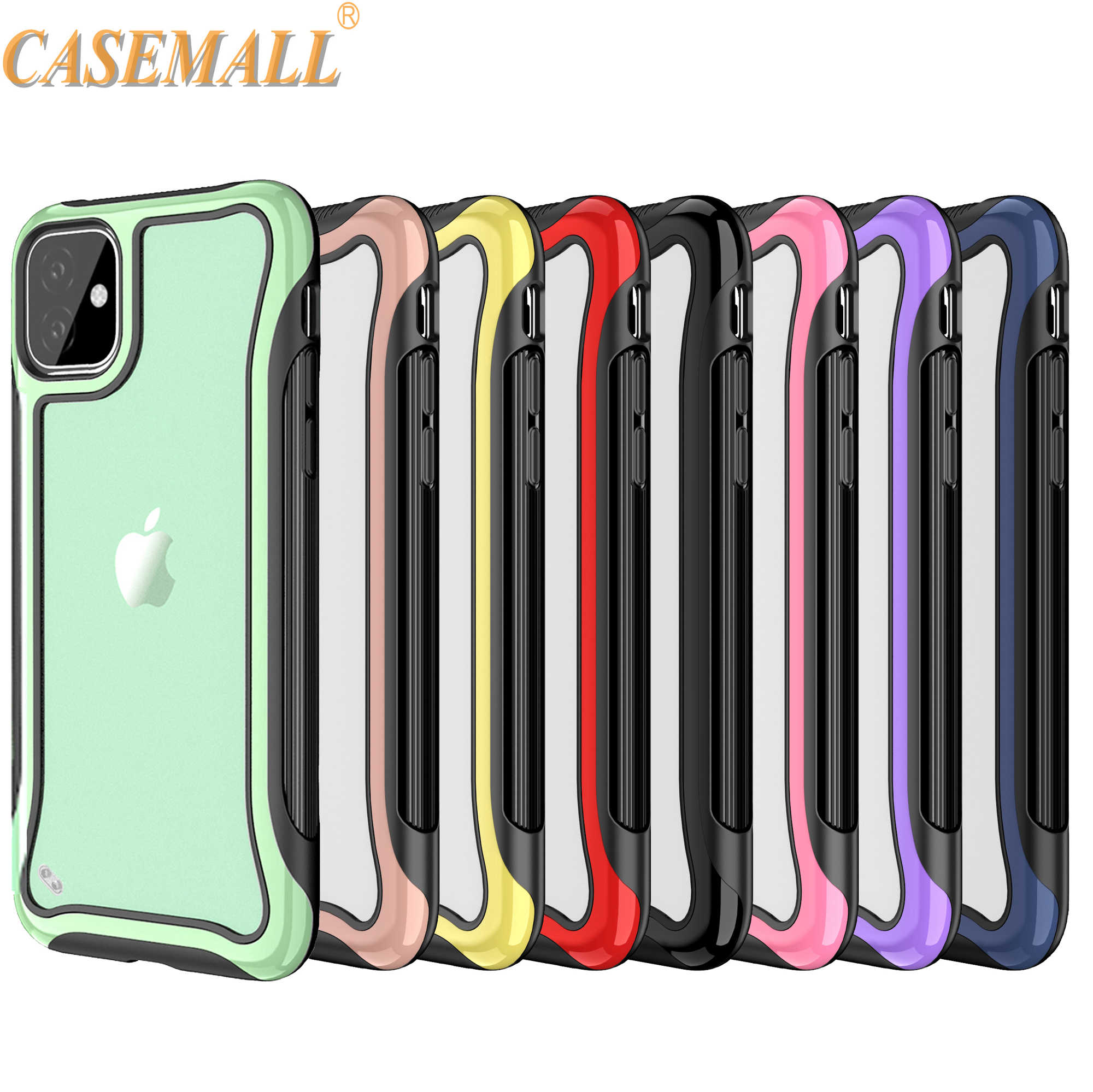 Voor iPhone 11 Pro Max case luxe anti-shock hybrid 3 in een bumper hard clear back cover voor apple iPhone 6 8 7 + Plus XR Xs X