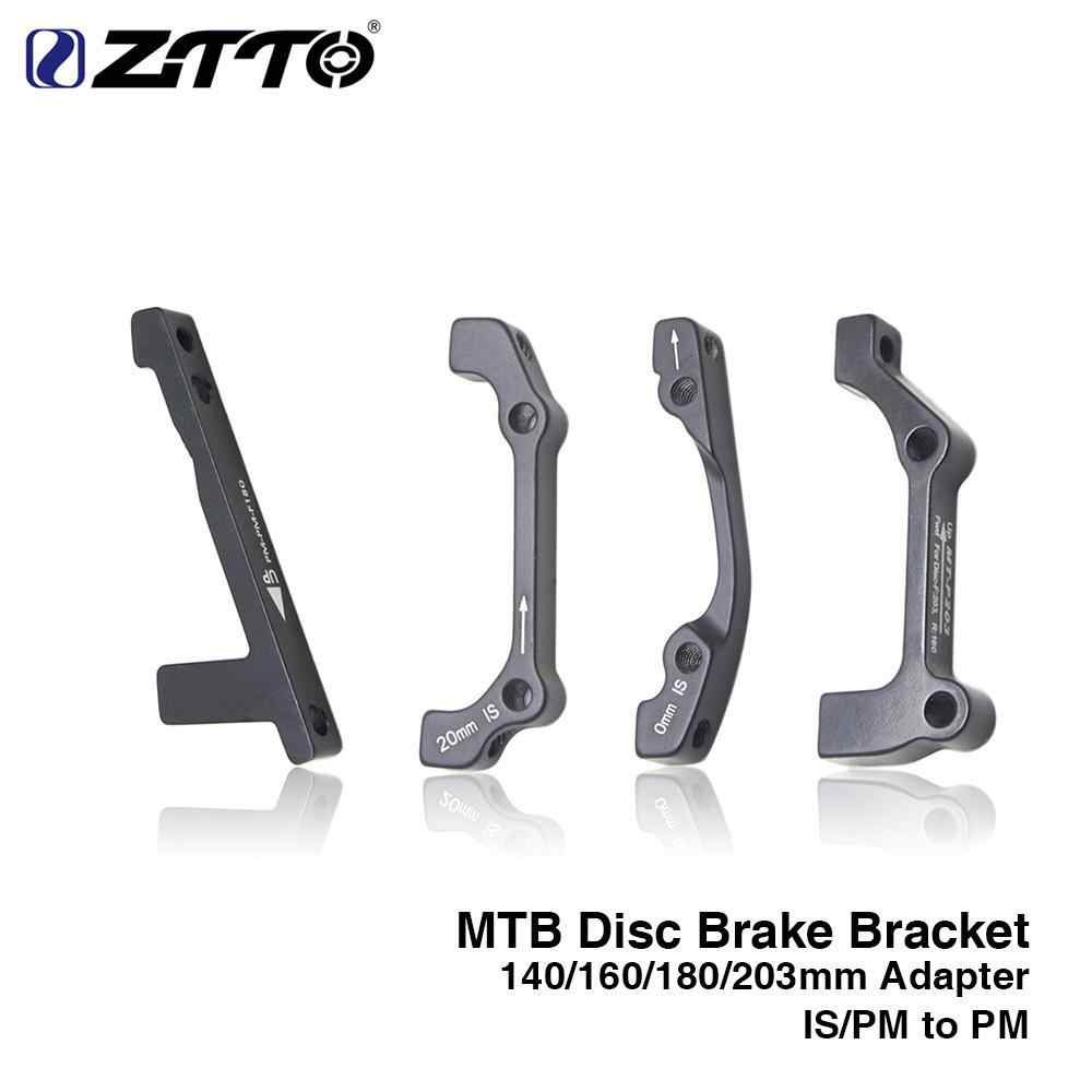 MTB Bike Disc Brake Mount Adapter bracket IS Front Rear 140//160//180//203mm rotors