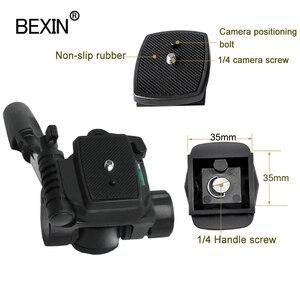 Image 3 - Bexin Ball Head Universele Drie Dimensionale Vloeistof Handheld Video Schieten Panoramische Statiefkop Voor Dslr Camera Monopod Statief