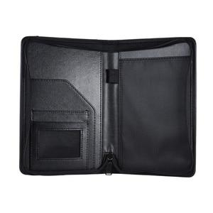 HOT-A5 PU кожаный офисный Органайзер Портфолио Padfolio папка для бизнеса IPad/стол и карточка интервью