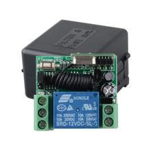 DC 12V 1CH RF Wireless Remote Control Switch Transmitter Receiver Controller 2016 new 12v 1ch wireless remote control switch system 8pcs transmitter