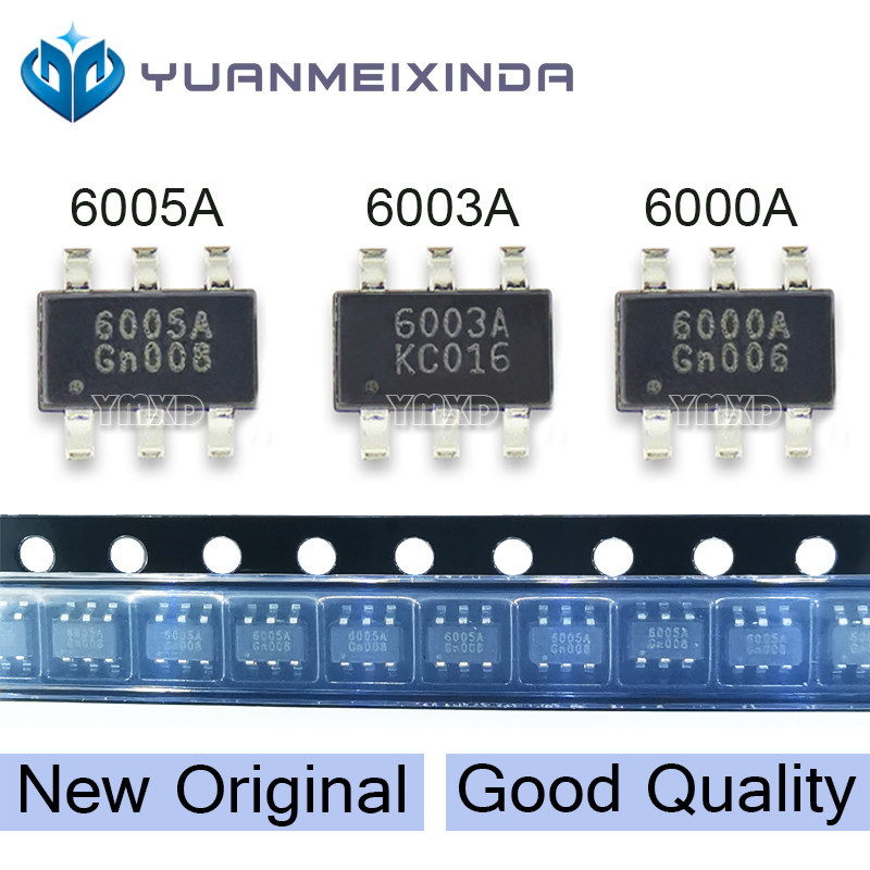 5pcs New Original 6005A 6003A 6000A PF6005AG PF6003AG PF6000AG SOT23-6 IC power management chip Best quality