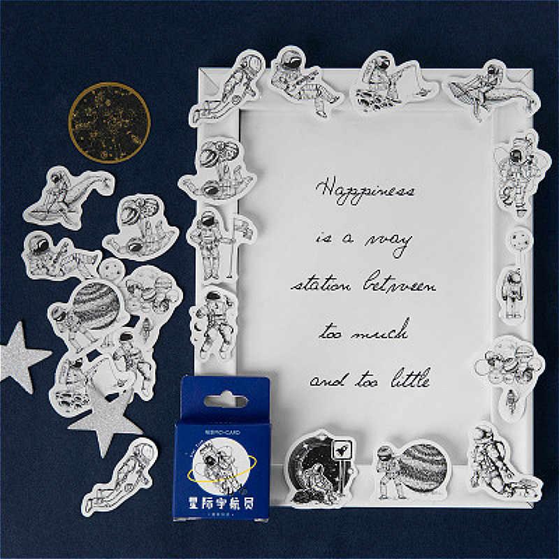 45 Pcs Bella Astronauti Adesivi Cancelleria Pacchetto Inviato Kawaii Planner Scrapbooking Adesivi Materiale Scolastico di Cancelleria