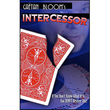 Free Shipping! Intercessor (Gimmick) ard Corner Switch Magica Magic Tricks,Mentalism,Card Magic,Close Up,Stage,Accessories image