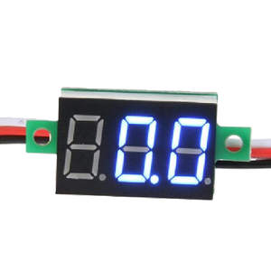 Digital-Voltmeter Protection Mini New 0-100V DC with Reverse-Polarity Three-Wire