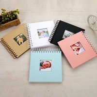 Álbum De fotos Diy álbum De fotos niños libro De memoria papel álbum De fotos bebé Scrapbooking Fotograf albúmu Portafoto Plakboek